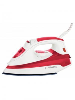 Утюг SIR5824 StarWind. Цвет: красный, белый