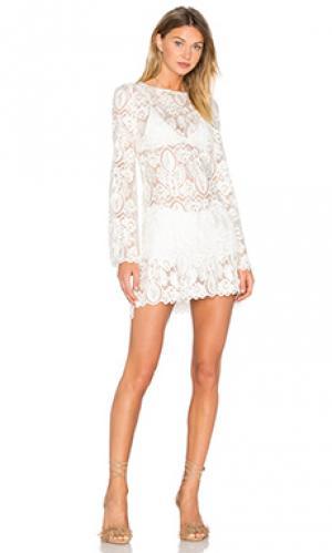 Платье juliet STONE_COLD_FOX. Цвет: белый