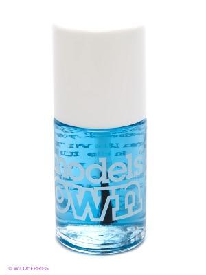 Лак для ногтей Nail Polish Base Coat Models own. Цвет: голубой