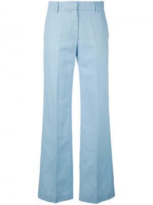 Строгие брюки Barena. Цвет: синий