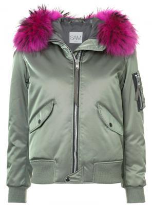 Куртка Jenny Sam.. Цвет: зелёный