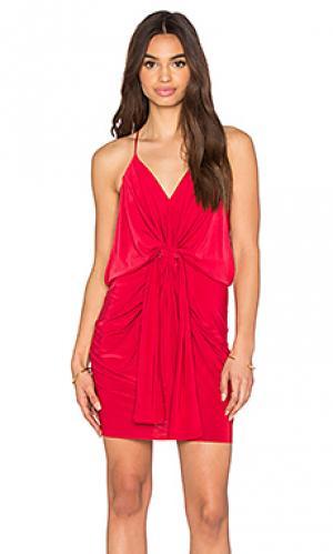 Мини платье domino T-Bags LosAngeles. Цвет: красный