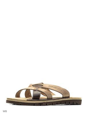 Пантолеты ID! Collection. Цвет: коричневый, светло-коричневый