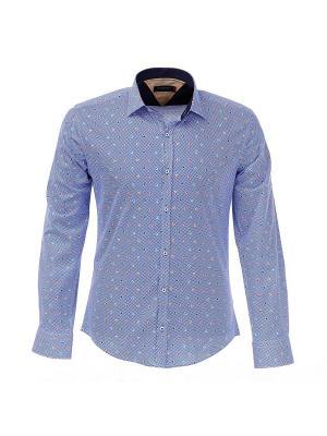 Рубашка BAWER. Цвет: индиго