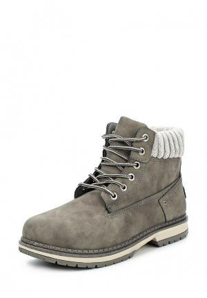 Ботинки Chic Nana. Цвет: серый