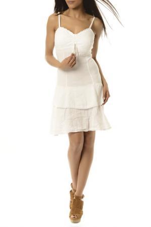 Платье LA BELLE PARISIENNE. Цвет: white