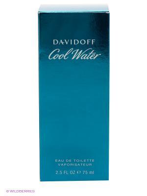 Туалетная вода-спрей Davidoff Cool Water, 75мл.. Цвет: синий
