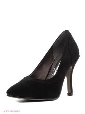 Туфли Tamaris. Цвет: черный