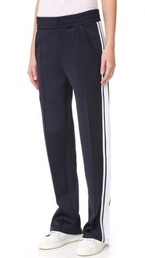 Тренировочные брюки Barclays Phat Buddha. Цвет: вечерний синий/ярко-белый