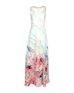 Длинное платье BOURNE. Цвет: белый