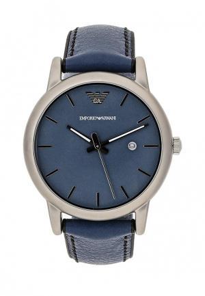 Часы Emporio Armani. Цвет: синий