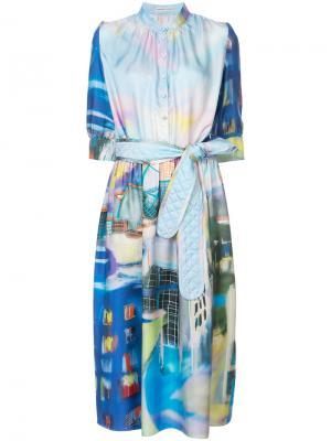 Painting print dress Tsumori Chisato. Цвет: многоцветный