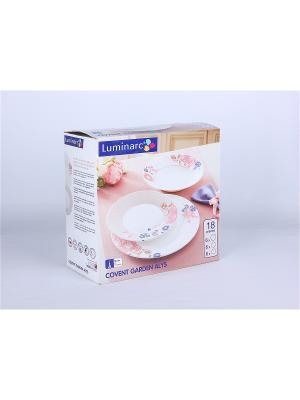 Сервизы столовые Luminarc. Цвет: прозрачный