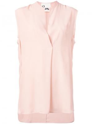 Рубашка без рукавов 8pm. Цвет: розовый и фиолетовый
