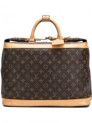 Сумка-тоут Cruiser 45 с монограммным узором Louis Vuitton Vintage. Цвет: коричневый