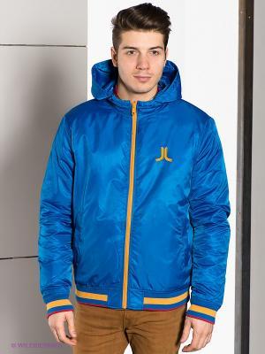 Куртка Wesc. Цвет: голубой