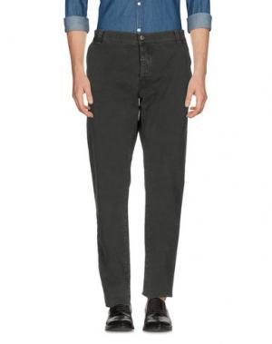 Повседневные брюки NICWAVE. Цвет: темно-зеленый