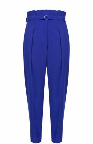 Укороченные брюки с завышенной талией и поясом 3.1 Phillip Lim. Цвет: синий