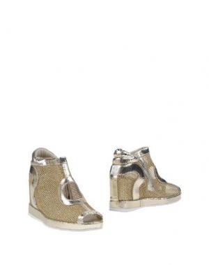 Ботинки RUCO LINE. Цвет: золотистый