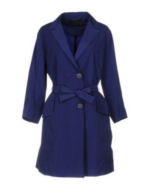 Легкое пальто CIVIDINI. Цвет: темно-синий