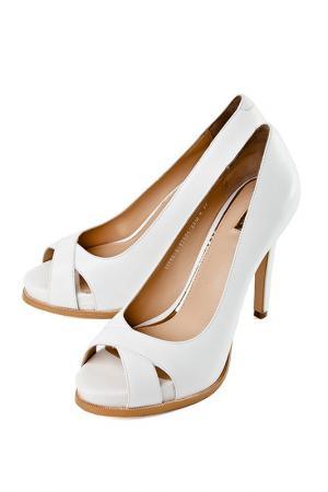 Туфли ALBA. Цвет: белый