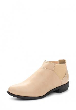 Ботинки Chic & Swag. Цвет: бежевый