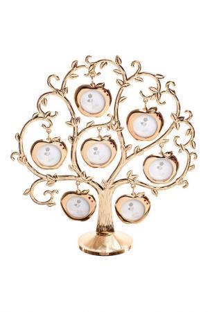 Рамка декоративная для фото ROZENBERG. Цвет: золотистый