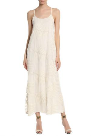 Платье ALICE+OLIVIA. Цвет: белый