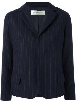 Укороченный пиджак Atelier Archivio Alberto Biani. Цвет: синий