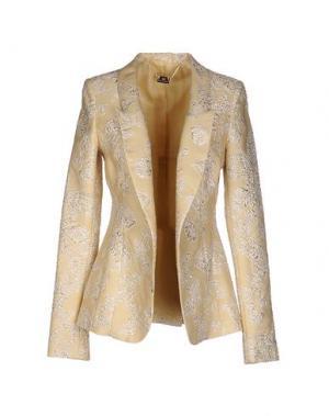 Пиджак FRANCESCA PICCINI. Цвет: светло-желтый