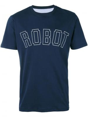 Robot T-shirt Lc23. Цвет: синий