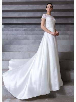 Свадебное платье X'Zotic. Цвет: молочный