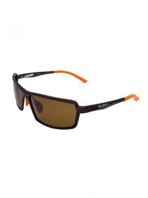 Солнцезащитные очки HK1386-P34 Valencia.. Цвет: коричневый, оранжевый
