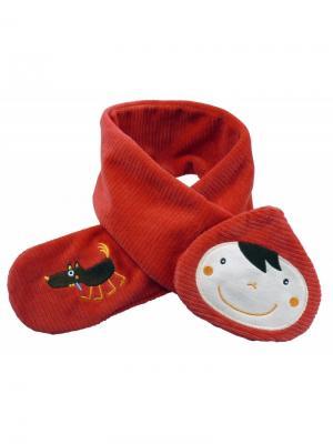Шарфик Красная шапочка Ebulobo. Цвет: красный