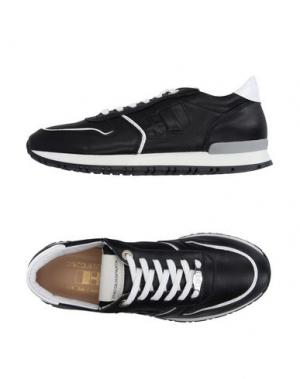 Низкие кеды и кроссовки D'ACQUASPARTA. Цвет: черный