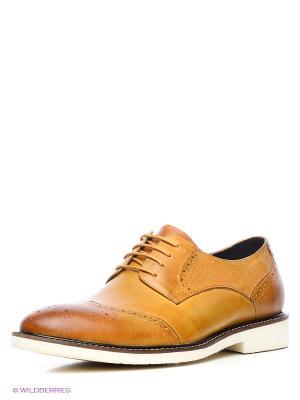 Туфли Mario Ponti. Цвет: светло-коричневый