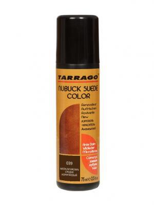 Краситель для замши и нубука, NUBUCK COLOR, флакон, 75мл. (39 средне-коричневый) Tarrago. Цвет: коричневый