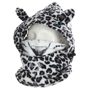 Балаклава  Rk1 Snow Leopard Camo Hoppipolla. Цвет: черный,белый