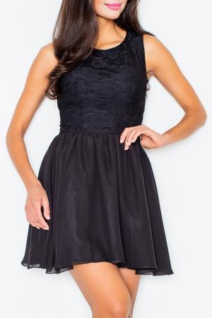 Платье Figl. Цвет: черный