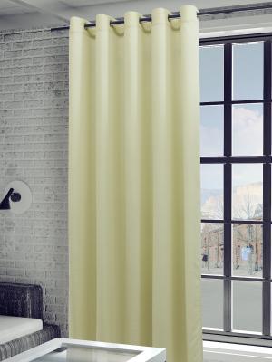 Готовая штора SANPA HOME COLLECTION. Цвет: светло-бежевый