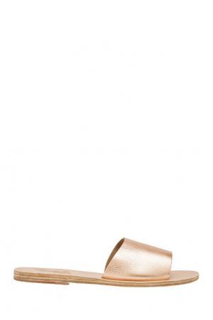 Сандалии Taygete Ancient Greek Sandals. Цвет: розовое золото