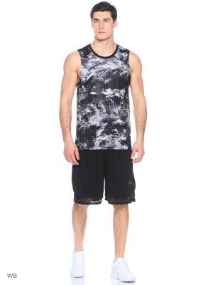 Майка спортивная Evo Graphic Tank Puma. Цвет: черный