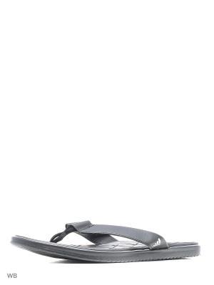 Шлепанцы caverock CF  CBLACK/FTWWHT/CBLACK Adidas. Цвет: черный, белый