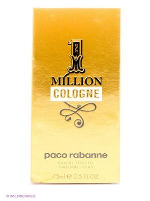 Туалетная вода paco rabanne 1 million cologne. Цвет: прозрачный