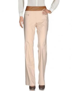 Повседневные брюки ANGELA MELE MILANO. Цвет: бежевый