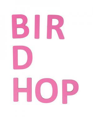 Деревянные буквы Sebra. Цвет: розовый