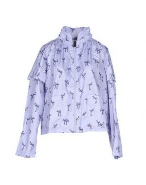Куртка PINKO UNIQUENESS. Цвет: пастельно-синий