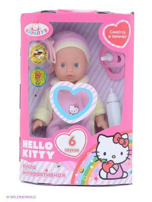 Кукла Карапуз Hello Kitty. Цвет: розовый