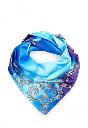 Платок Seanna. Цвет: голубой