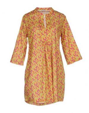 Короткое платье PYAAR. Цвет: фуксия